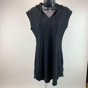 Athleta Dress Short LEngth Hooded Sleeveless
